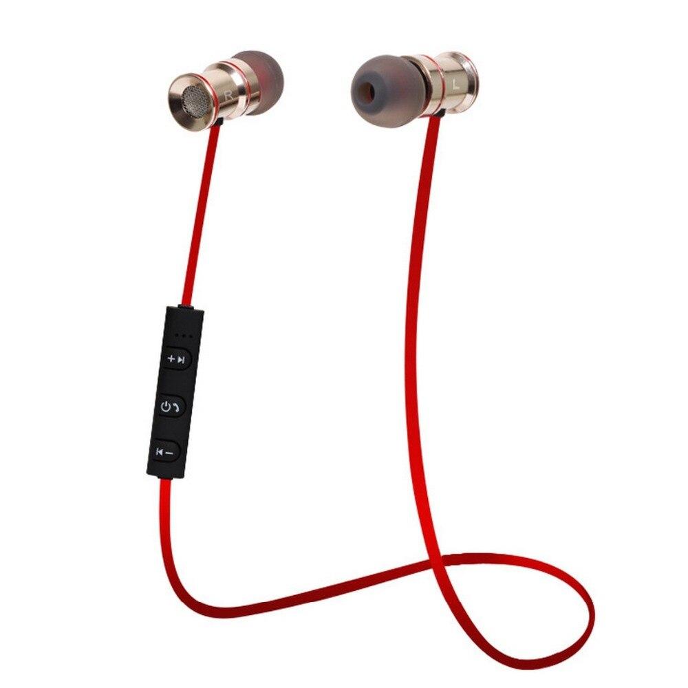 bilder für Kopfhörer Bluetooth 4,1 Kopfhörer für iPhone Samsung Metall Wireless Stereo Headset Musik Freisprecheinrichtung Hifi Original Smart Sport
