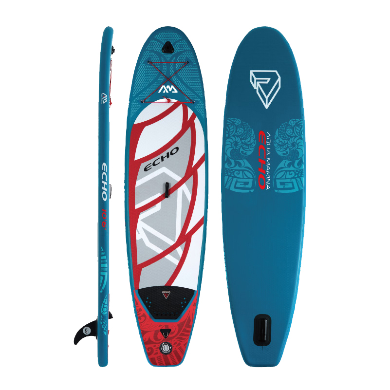Aqua marina Echo all around inflatable SUP Stand up Paddle Board inflatable paddle board surf board свитер мужской mexx цвет темно синий mx3001332 mn plv 010 размер m 46 48