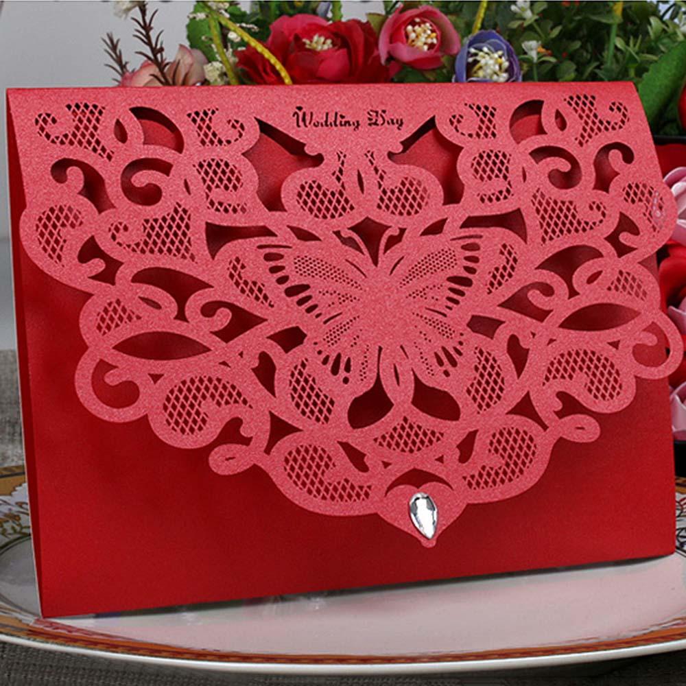 Results of top laser cut wedding invitations 50pcs in Nadola