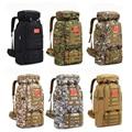 70L 600D походный альпинистский рюкзак военный Молл Камуфляж Водонепроницаемая тактическая сумка Регулируемая большая емкость