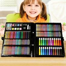 86 комплектов детских акварельных ручек цветные карандаши для
