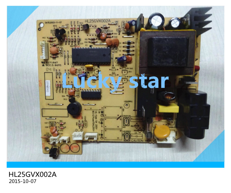 95% new for Air conditioning computer board circuit board HL25GVX002A board good working