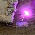 1 М Атмосфера Лампы украшения Для Волос Красочный Свет Линия DIY Декоративные