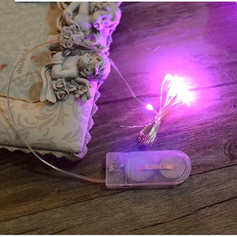 1 Meter Atmosphäre Lampen Haar Schmuck Bunte Licht Linie Diy Dekorative Eine Lange Historische Stellung Haben