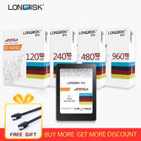LONDISK SSD 120GB 240GB 480GB 960GB hdd sata3 2.5 inch ssd Internal Solid State Disk Computer Hard Drive ssd 240 gb for Laptop