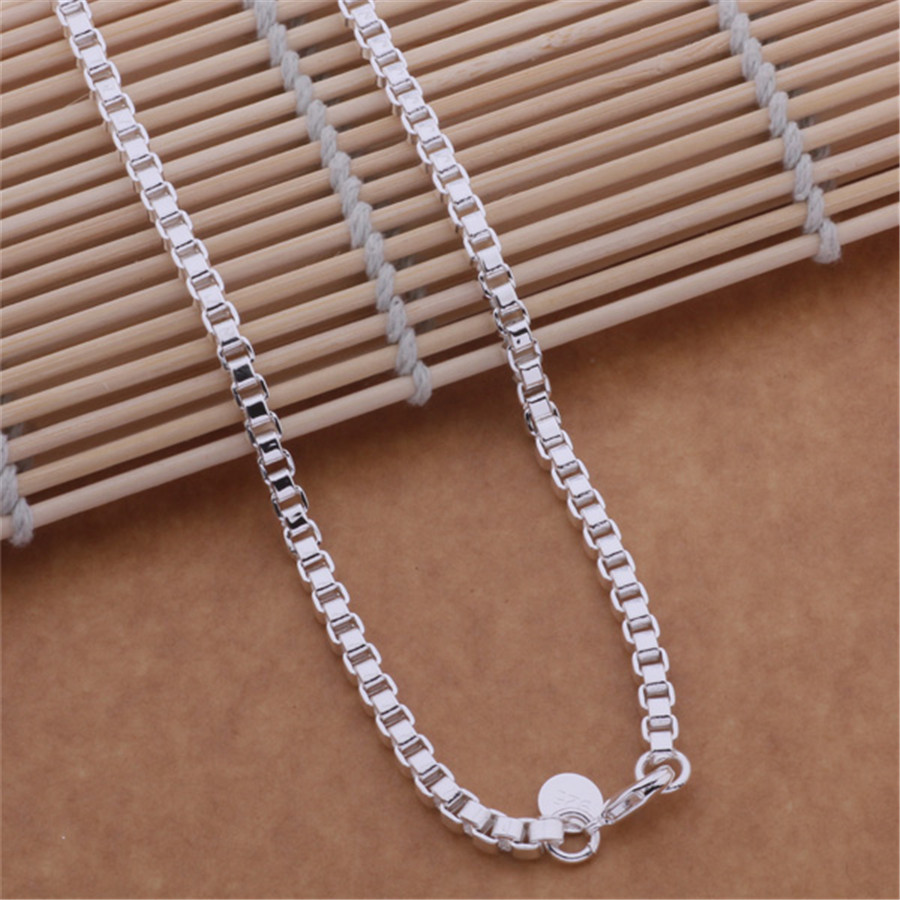 new popular AN614 high quality silver plated jewelry fashion trend Women classic necklace package mail