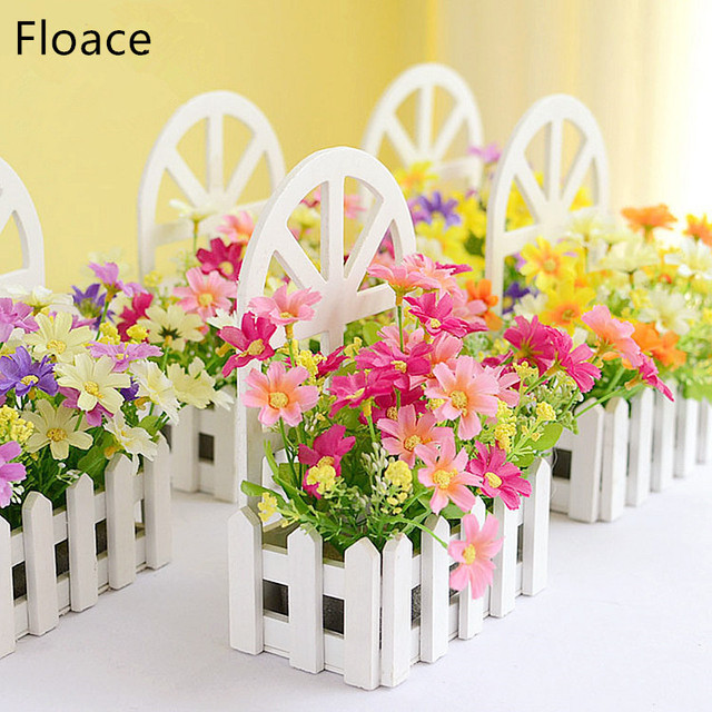 floace wall fence kit pastoral artificial flowers silk flowers