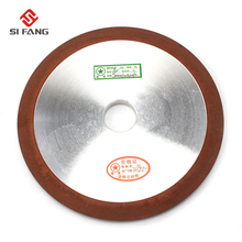 цена на 200*32*10*8mm PDX one side tapered Diamond Wheel Cutting Electroplated Saw Blade Grinding Disc Grain  150 Rotary Tool Drill