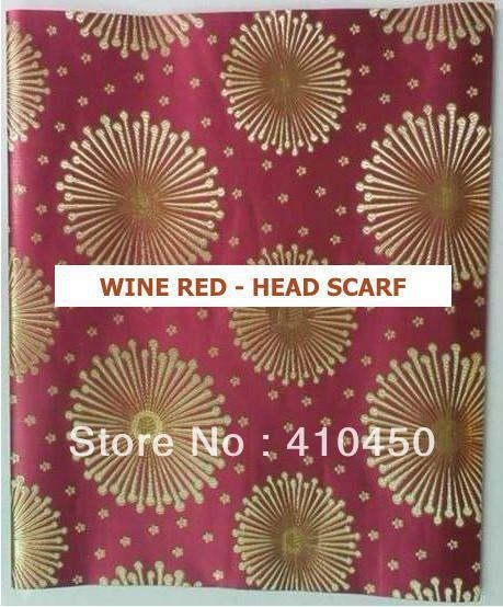 [Express Free Shipping]5bags/lot  New arrival Fine Fashion  African Arab hair accessories Damask head scarf HT006