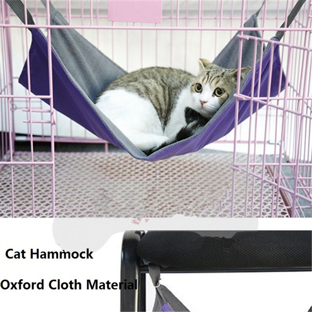 winter summer dual use flannel oxford cat hammock fur soft bed animal hanging cat winter summer dual use flannel oxford cat hammock fur soft bed      rh   aliexpress