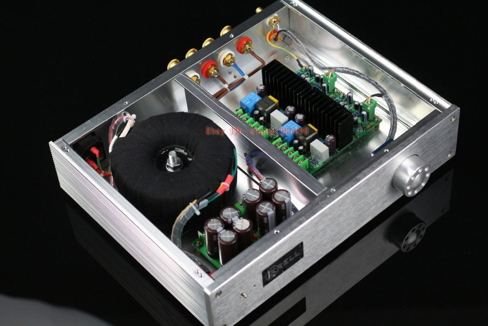 цена на ZEROZONE Finished LJM L15D pro stereo Power amplifier IRS2092 IRFB4019 150W +150W L6-3