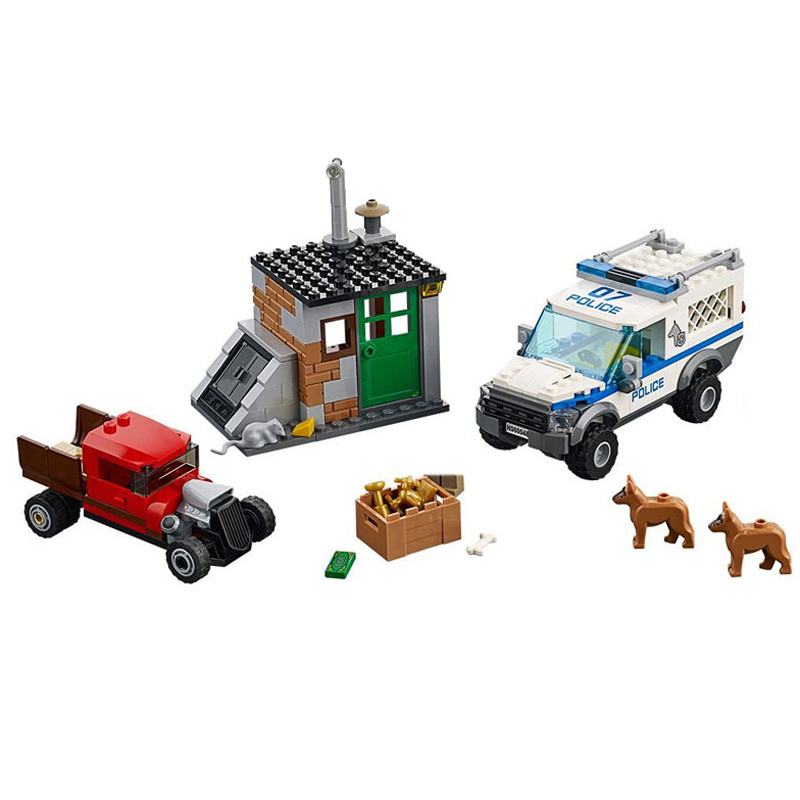 10419 City Police Dog Unit Police Commandos Cars Model Building Blocks Brick Toys For Children Christmas Gift Legoings 60045 compatible lepin city block police dog unit 60045 building bricks bela 10419 policeman toys for children 011