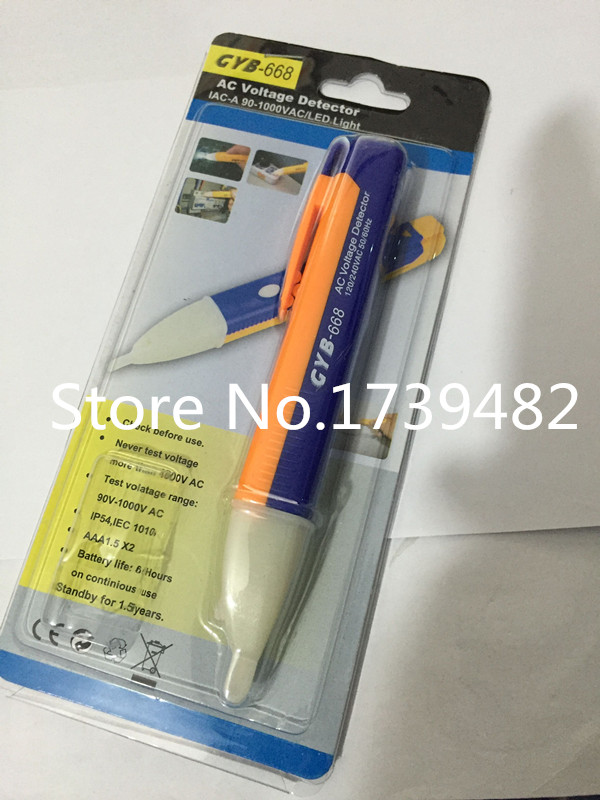 Electric Volt Stick Pen Voltage Detector Tester Cable Electrician 90~1000V