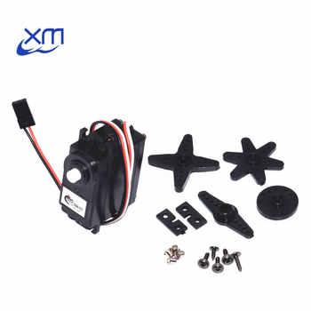 10pcs/lot DS04-NFC servo 360-degree Continuous Rotation Servos DC Gear Motor Smart Car Robot Torsion 5.5kg/cm DC 4.8V-6V H44 - DISCOUNT ITEM  18% OFF All Category