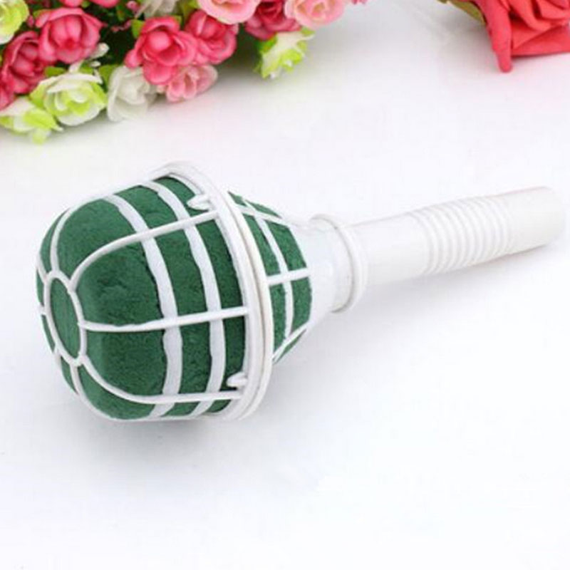 wedding bouquet holders for silk flowers new brides artificial flower holder floral foam amp plastic 8462