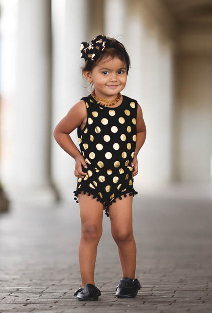 Buy Black White And Gold Baby Clothes And Get Free Shipping On