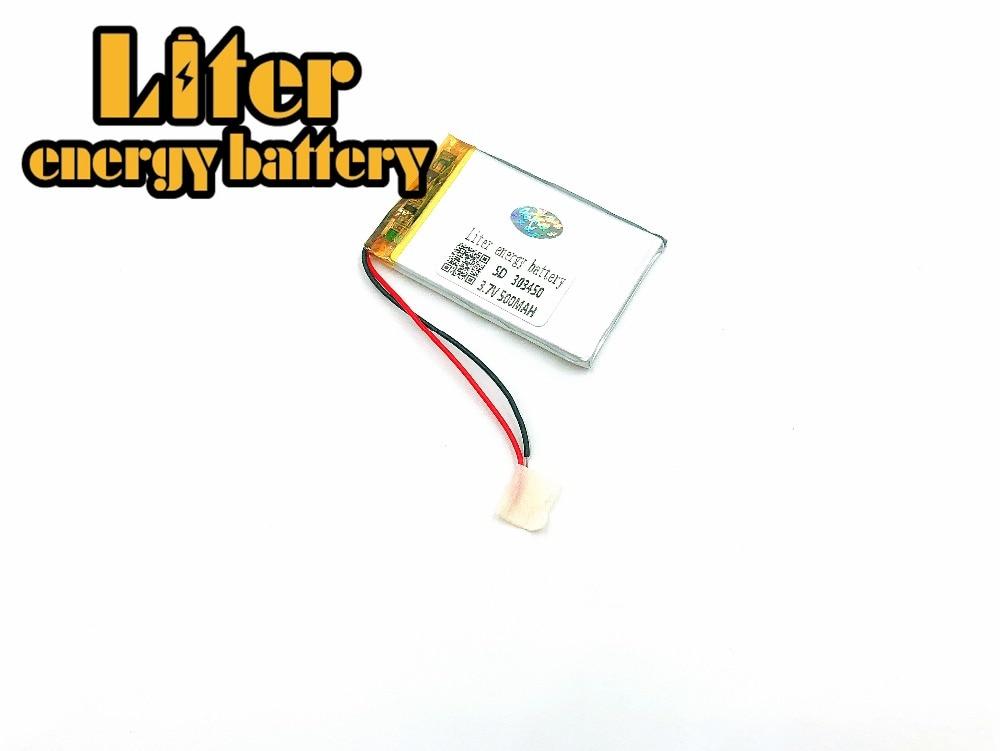 3.7V,500mAH 303450 303550 PLIB; polymer lithium ion / Li-ion battery for dvr,GPS,mp3,mp4,cell phone,speaker rock royce series phone case for iphone 7 plus rose gold