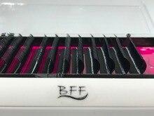 BFF ブランド 10 ボックスまつげ延長 0.05/0.07/0.1/0.15/0.02/0.25 ミリメートル高輝度品質天然、合成ミンク個別のまつげ