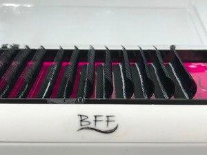 Image 1 - BFF ยี่ห้อ 10 กล่อง Eyelashes EXTENSION 0.05/0.07/0.1/0.15/0.02/0.25 มม.คุณภาพสูงธรรมชาติสังเคราะห์ Mink ขนตา