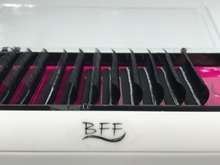 Bff marca 10 caixa cílios extensão 0.05/0.07/0.1/0.15/0.02/0.25mm qualidade brilhante natural sintético vison cílios individuais
