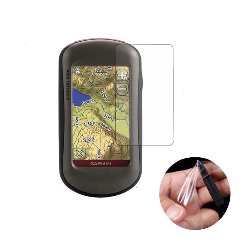 3pcs PET Clear Protective Film For Garmin Oregon 500 450 450t 550 550t 400t 400i 400c 400 300 200 GPS Screen Protector Cover