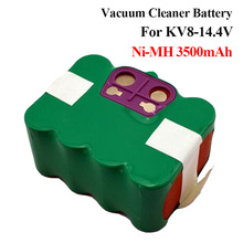 Vacuum Cleaner battery for KV8 Cleanna 14.4V 3500mAh Ni-MH Power KV8 XR210 KAILY 570 580 ZECO V700 V770 Zebot Z320 Suit