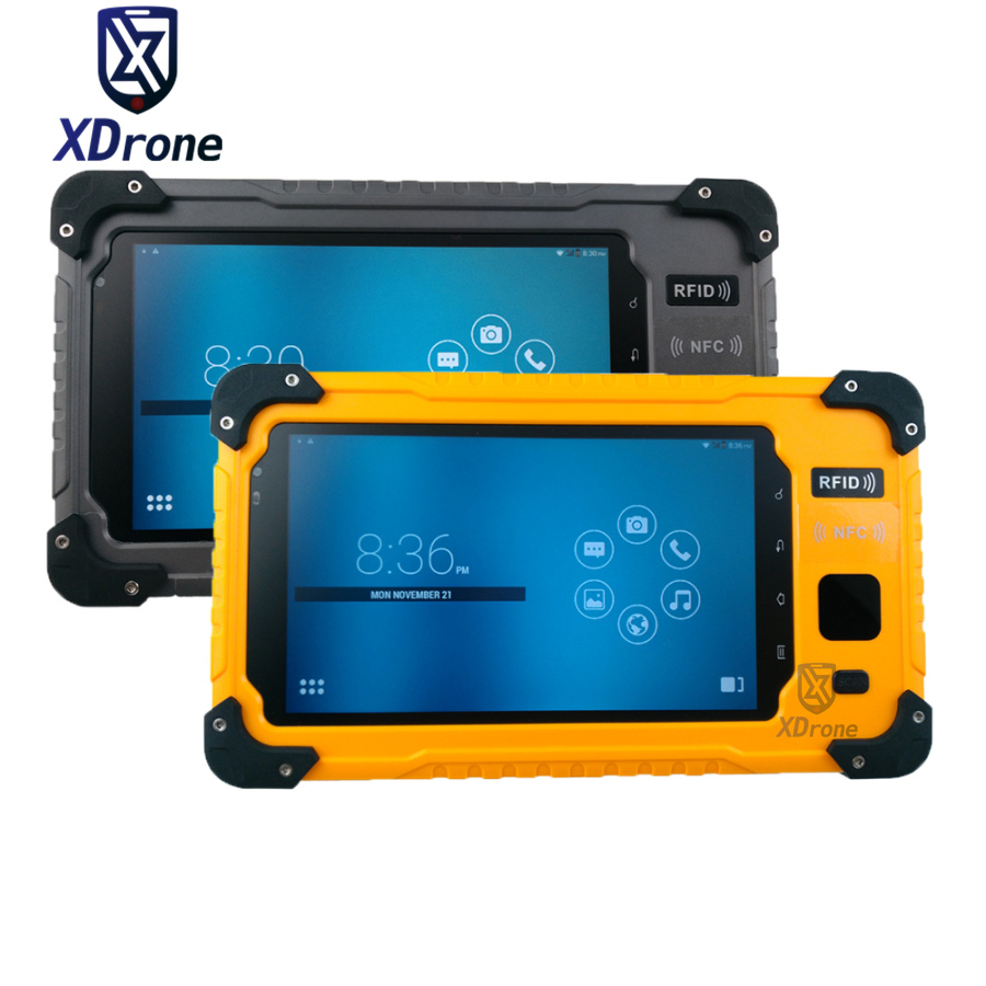 Original S70V2 Rugged Waterproof Android Tablet PC Phone Fingerprint Quad Core 7 Inch 3GB RAM Gps NFC 4G Lte 2D Barcode Scanner