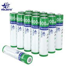Melasta – piles ni-zn rechargeables AAA 900mWh 1.65V, pour appareil photo numérique, lecteurs CD, jouets électriques, lampe de poche, horloge