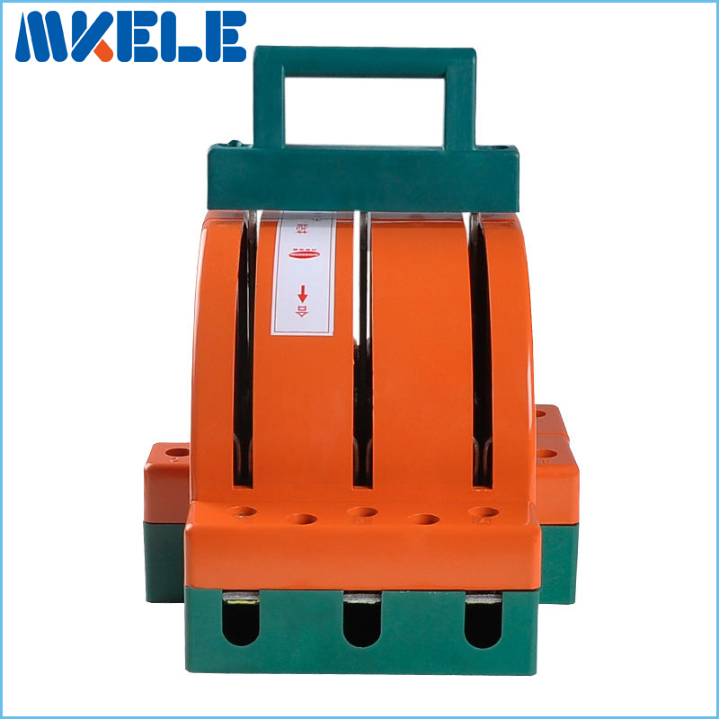 цена на High Quality Wholesale 225A 3p Double Throw Knife Disconnect Switch Delivered Safety Blade Switches Air Circuit Breaker China