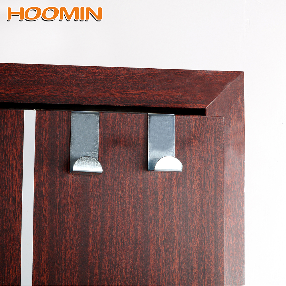 2Pcs/Set Door Straps Hanger Hooks Stainless Steel Coat Storage Holder Hook Home Kitchen Cabinet Wall Door Hat Bag Organizer