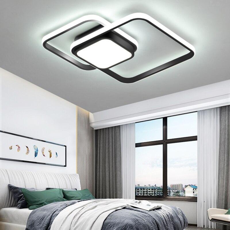 luzes de teto sala de estar quarto moderno levou lampe plafond lican avize modern led luzes