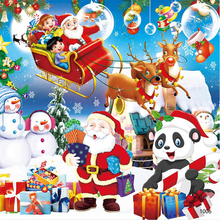 купить Merry Christmas 100 Piececs Children Jigsaw Puzzle Board Wooden Puzzle Game Education Learning Toys For Kids Gift Santa Claus по цене 301.78 рублей