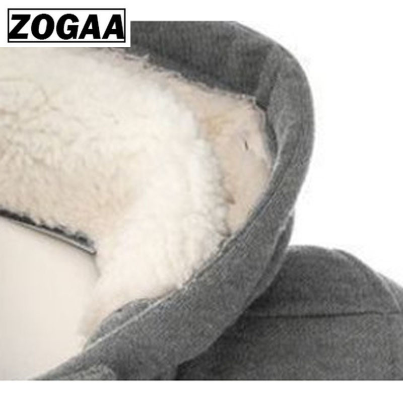 ZOGAA Jacket Women Plus Size 2019 Winter Women Coats Newest Fashion Casual Hoodies Long Section Keep Warm Jacket Female Coat