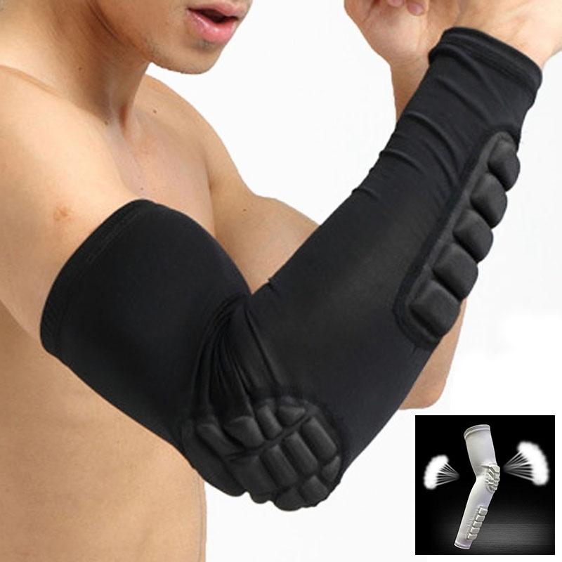 Beauty & Health Skin Care Tools A Black Sports Basketball Arm Guard Wrapped Anti-damage Support Protection Pad Care Tool To Enjoy High Reputation In The International Market