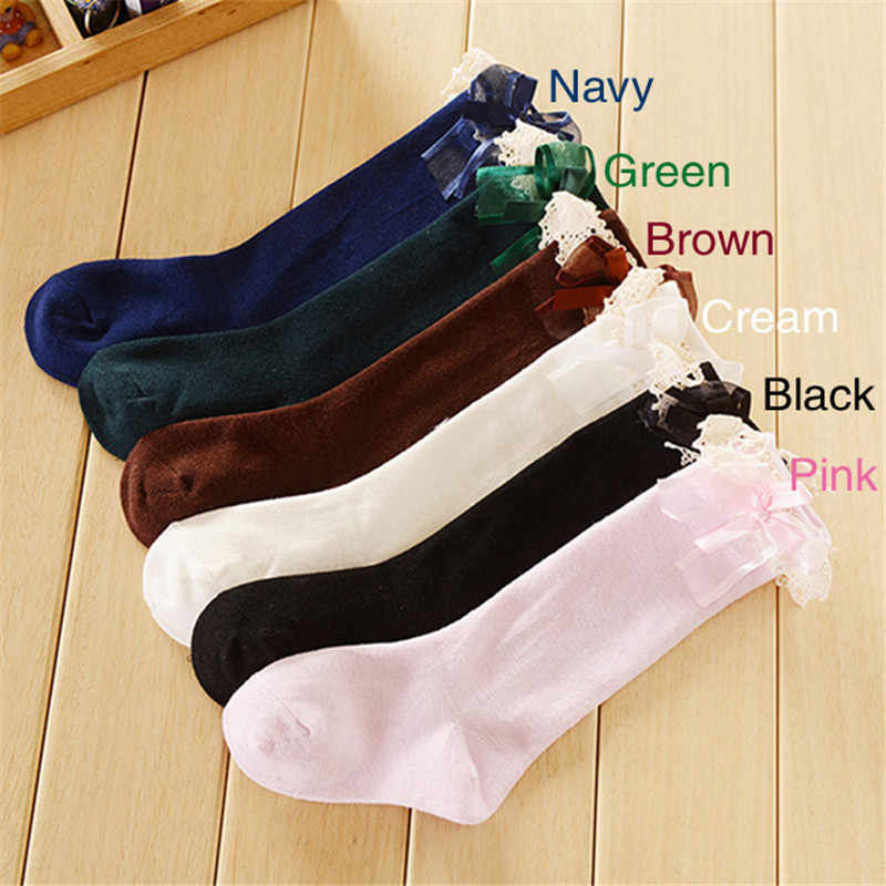 967c56e7c ... 1 Pair NEW Winter Warm Baby Girl Toddler Newborn Infant Kids Knee High  Length Cotton Stockings ...
