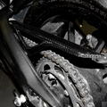 For Yamaha MT-09 MT 09 13-15 Motorized modified carbon fiber chain cover modified chain bezel