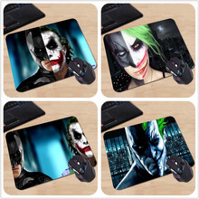 Babaite Print Gaming Mousepads New Anti-Slip PC Laptop Cool High Quality Anime Cartoon Half Batman Joker Face Mouse Pads