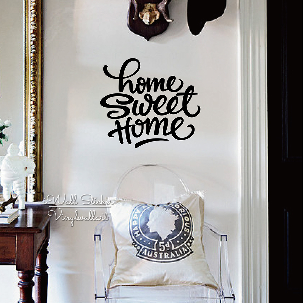 Quotes About Arte ᗑhome Sweet Home Cita Etiqueta De La Pared Quotes Decalque De