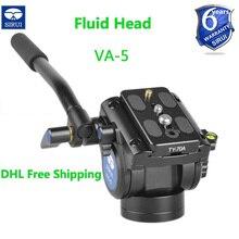 цены на Sirui Base Tripod Head For Professional Digital Camera Canon Nikon Unipod Monopod Ball Heads 360 Degrees Panning Rotating VA5  в интернет-магазинах