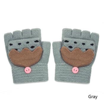 Χριστουγεννιάτικα βρεφικά γαντάκια με ελεύθερα τα δάχτυλα Παιδικά Ρούχα Ρούχα MSOW