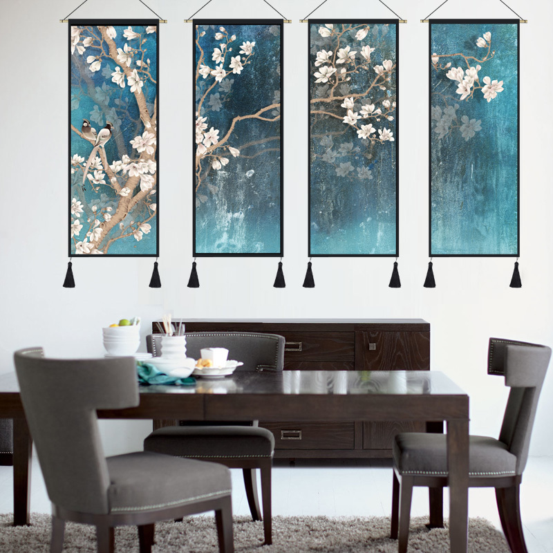 Chinese Style Tapestry Feng Shui Paintings Office Living