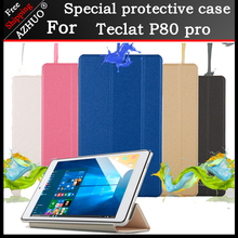Newest Ultra Slim Case For 2018 Teclast P80 pro 8Tablet PC ,Stand cover Pro tempered film +2 gifts