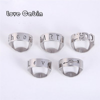 Stainless steel ring beer bottle opener (1lot=50pcs) wedding supplies party favors wedding souvenir event giveaway
