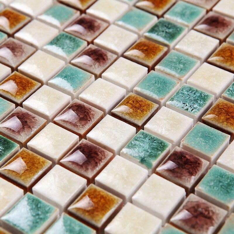 Online kopen wholesale groene keramische tegel uit china groene keramische tegel groothandel - Groene metro tegels ...