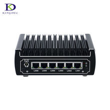 Hot Selling DDR4&6*COM Fanless Nuc nettop computer Core i3 7100U Celeron 3865U HTPC Intel HD Graphics 610/620 Home&Bussiness pc