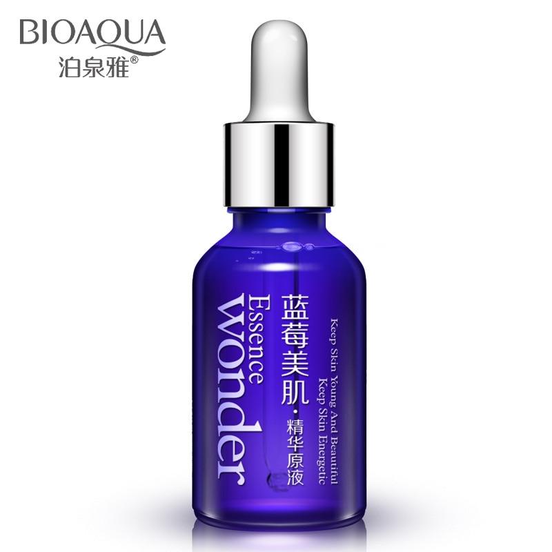 Blueberry ácido hialurônico líquido Anti rugas Anti envelhecimento colágeno pura essência branqueamento de óleo dia creme hidratante cuidados com a pele