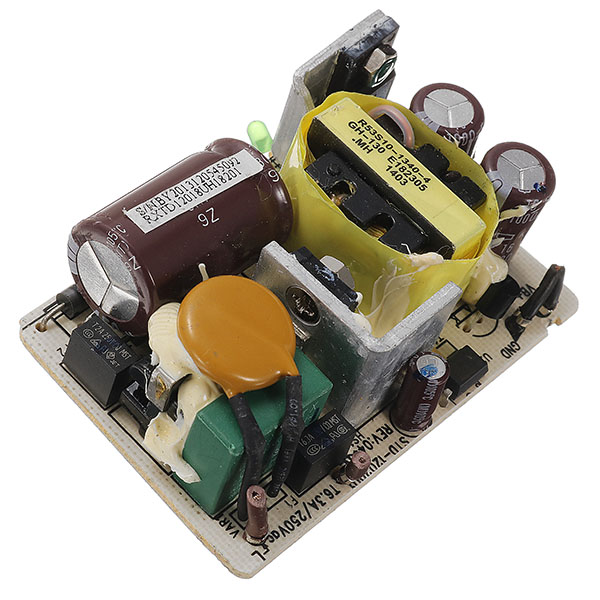 12V 2A Switching Power Supply Module Monitor DC Voltage Regulator Switch Board Short Circuit Overvoltage Overcurent Protection
