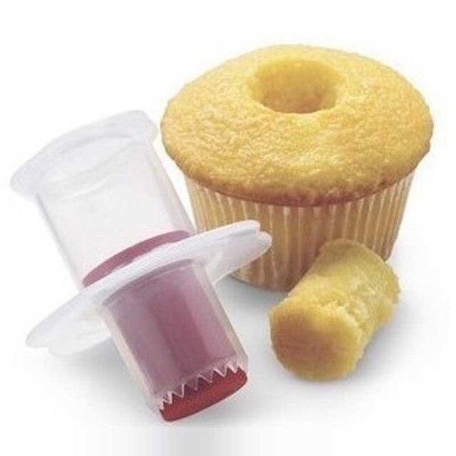 Kitchen Cupcake Cake Corer Plunger Cutter Pastry Cake Decorating Divider Filler Mode Cake Decorating Tools Creative DIY