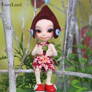 Image 2 - New arrival Fairyland FL Realpuki Toki 1/13 bjd sd żywica figurki luts yosd zestaw lalki dla sprzedaży zabawki prezent wysokiej jakości żywicy lalki