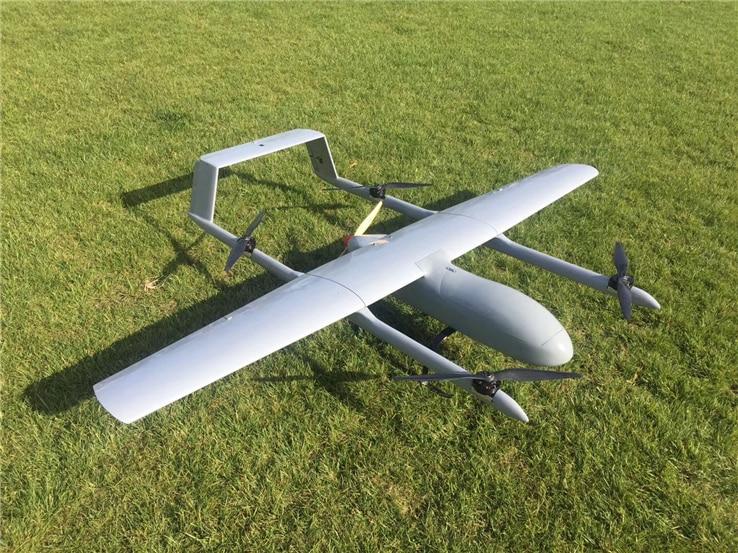 New Mugin 2930mm H-Tail VTOL UAV Platform Frame Kit